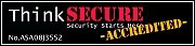 Internationally Accredited By THINKSECURE® PTE LTD
